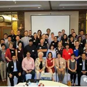 雷竞技newbee百年出席2017全球猎头组织——NPA 亚太区会议
